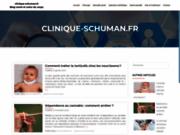 screenshot http://www.clinique-schuman.fr clinique psychiatrique schuman