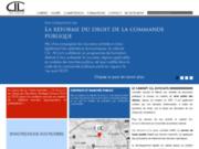 screenshot http://www.cll-avocats.com avocat ordres professionnels