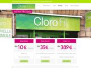 screenshot http://www.clorofil.com salle de sport