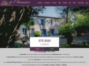 screenshot http://www.closdelherminier.com/ chambres d'hôtes montpellier languedoc - clos de l'herminier