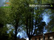 screenshot http://www.closmalpre.com chalets et gites de groupe, sport, fête, séminaire