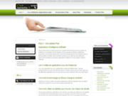 screenshot http://www.clubtablette.fr/ toute l'information sur l'ipad avec club tablette.