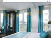 screenshot http://www.cluny-paris-hotel.com/ hotel cluny square