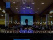 Interprètes trilingues