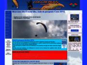 screenshot http://coccinailes.com coccin'ailes