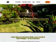 Coco Vanille : Chambres d'hôtes à la Réunion