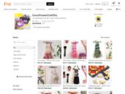 screenshot http://www.cocoflower.org Art toys poupées de collection