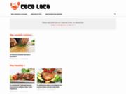 Coco Loco : Le numéro 1 du Fast Food à Marseille - Vente en ligne de Burgers, Pizzas, Salades