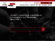 screenshot http://www.cofiem.fr maintenance industrielle de carte électronique