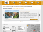 screenshot http://cogeprom.evimmo.fr/appartement-neuf-toulouse,le-seville,1 Appartement neuf à Toulouse