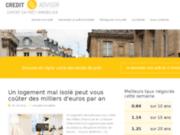 screenshot http://www.cogitaux.fr financement - rachat de crédit