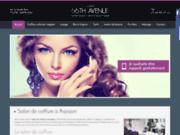 screenshot http://www.coiffure-esthetique-massage-essonne.com salon de coiffure essonne à arpajon