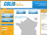 screenshot http://www.colismalin.fr/ transport de colis