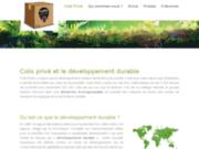 Société distributrice de colis en France