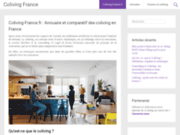 screenshot https://www.coliving-france.fr coliving