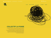 screenshot http://collectiflafosse.netlify.app/ collectif de théâtre