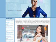 screenshot http://www.collectionprivee-mode.com stylisme, modelisme et creation vestimentaire
