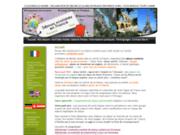 screenshot http://www.collegiensdumonde.com sejour scolaire en provence