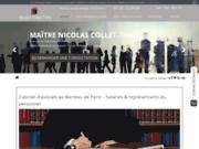 screenshot https://www.collet-thiry-avocats.fr/ Votre avocat en droit du travail à Paris