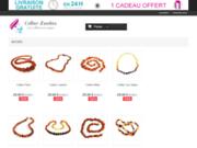 screenshot http://www.collier-d-ambre.fr Collier-d-ambre.fr