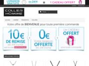 screenshot http://www.collier-homme.fr Collier-homme.fr