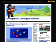 screenshot http://coloriage.mobi coloriage
