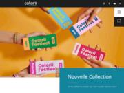 screenshot http://www.colorii.com ma beauté donne envie avec les produits de colorii