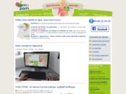 screenshot http://www.com3pom.fr faites votre marché sur com3pom, nous vous livrons