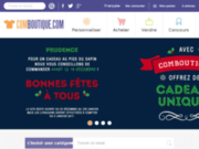 screenshot http://www.comboutique.com t-shirts personnalisés