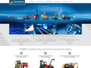 screenshot http://comebo-industries.fr/ sous-traitance industrielle en fabrication de pièces métalliques