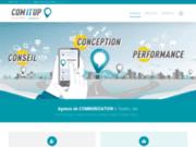 screenshot https://comitup.fr/ Agence COM IT UP à Toulon