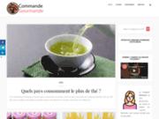 screenshot http://www.commande-gourmande.fr/ livraison repas paris