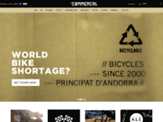 screenshot http://www.commencal.com commencal