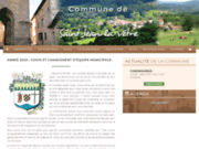 screenshot https://communestjeanlavetre.fr/ Commune de Saint-Jean-la-Vêtre