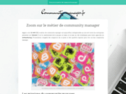 Site officiel de community manager