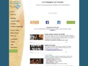 screenshot http://www.compagnielestoupies.org stages, spectacles et formations théâtre et pluridisciplinaires // personnes valides ou non, enfants