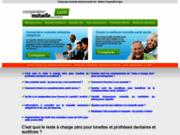 screenshot http://www.comparateur-mutuelle-assurance-sante.com/ Comparateur mutuelle assurance santé