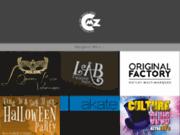 screenshot http://www.compoz-it.com créations graphiques, conceptions publicitaires