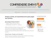 screenshot http://www.comprendre-emrys.fr Emrys la Carte