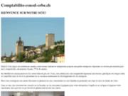 screenshot http://www.comptabilite-conod-orbe.ch/ lise conod comptabilité, déclarations fiscales