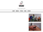 screenshot http://www.comptable-infirmiere.com infirmières libérales