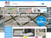 screenshot http://www.comptoir-toulousain-carrelage.com vente de carrelage terrasse, de dalles piscines et de pierre