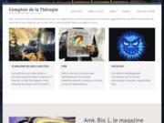 screenshot http://www.comptoirdelatapie.fr/ Bière de riz de Camargue et Riz de Camargue biologique