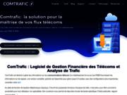 screenshot http://comtrafic.com logiciel de taxation téléphonique