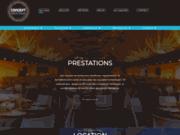 screenshot http://www.concept-even.com prestataire en sonorisation, éclairage, structure