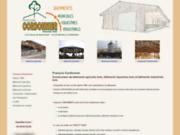 screenshot http://www.conceptbois.fr/ bâtiment agricole bois