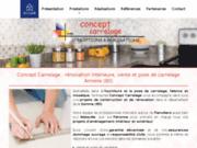screenshot http://www.conceptcarrelage.net/ travaux de carrelage et de revêtements de sols