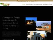 screenshot http://www.conceptionbois85.fr Maison à ossature bois