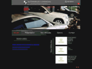 screenshot http://www.concessionnaire-auto-luxe.com concessionnaire voitures