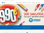 screenshot http://www.conduite-academy.com Auto ecole